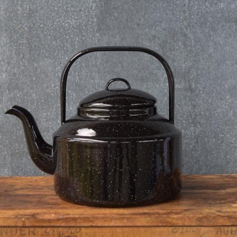 Falcon enamel tea kettle, 3 litres