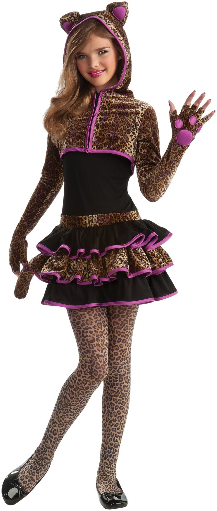 Leopard Tween Costume from Buycostumes.com