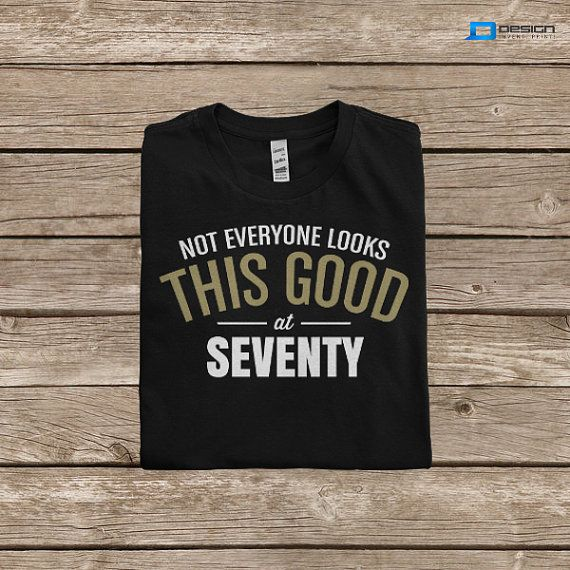 70th Birthday TShirt  Born In 1944 Great 70th by DesignInventPrint, $16.99