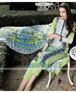 Gul Ahmed Lawn 2015 - Stitched Pakistani Designer Suits Online