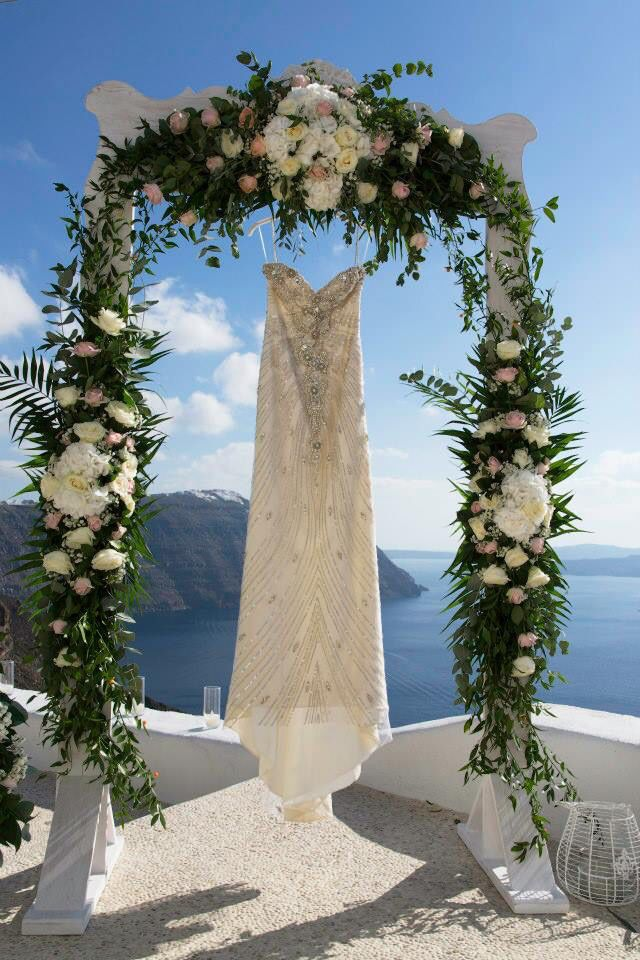 Vintage Wedding gown,Santorini