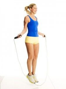 The Hop, Skip, Jump Workout---I need to do this-I have the ropeless jumprope so there is no excuse