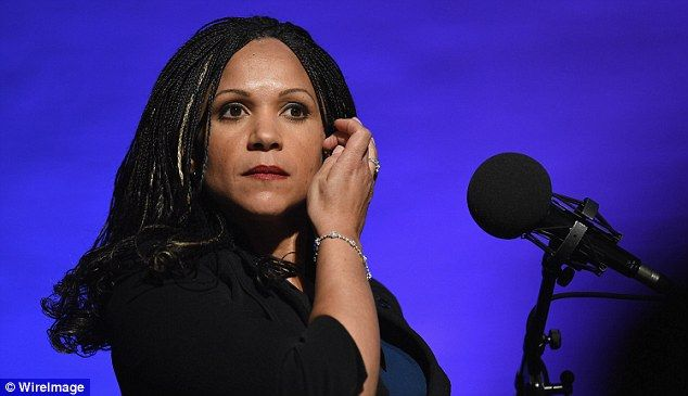 Melissa Harris-Perry is boycotting her eponymous show by refusing to host the MSNBC program this weekend (pictured, on February 10)