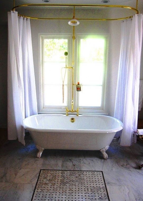 Die besten 25+ Victorianische duschvorhangstangen Ideen auf - badezimmer vintage