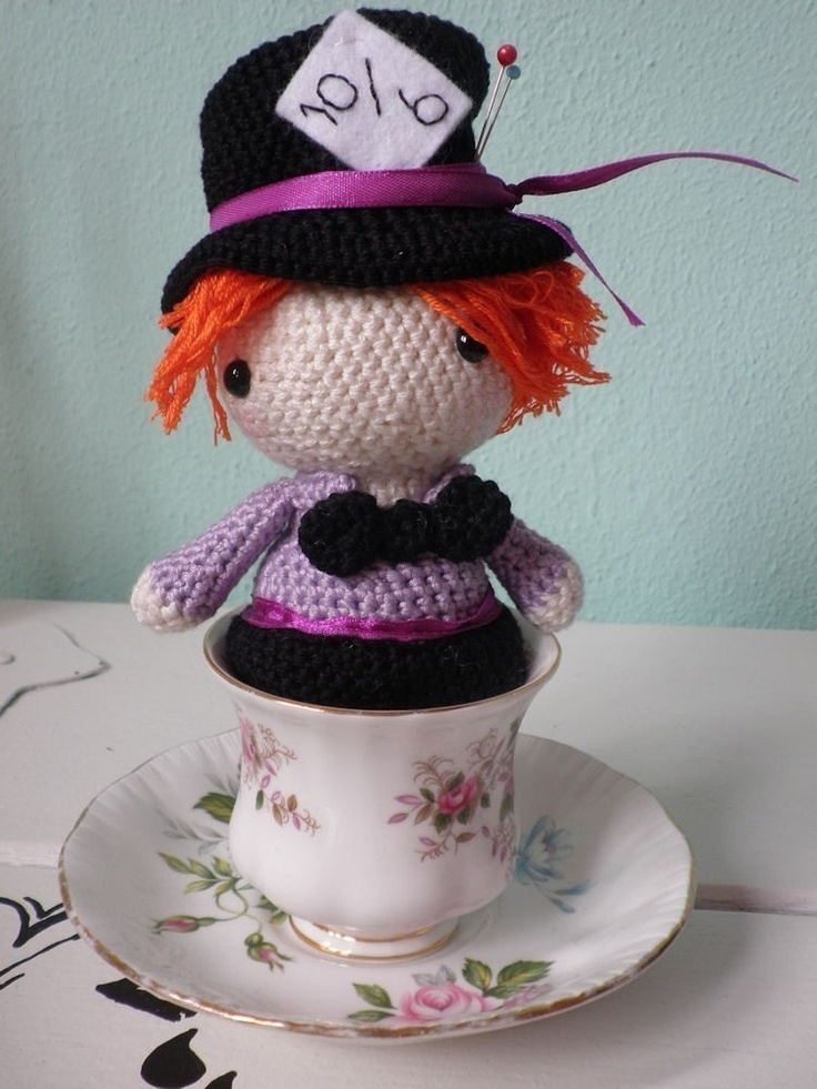 Cheshire Cat Amigurumi Crochet Pattern Free :
