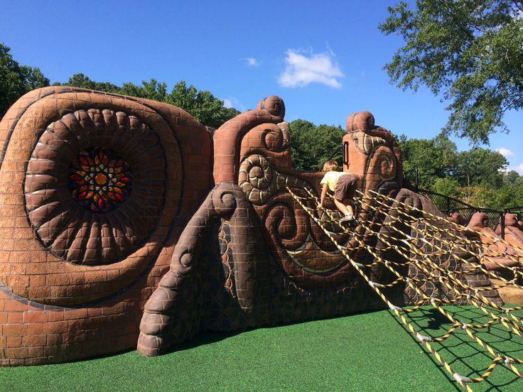 Sandy Springs Playable Art Park - Sandy Springs, Ga