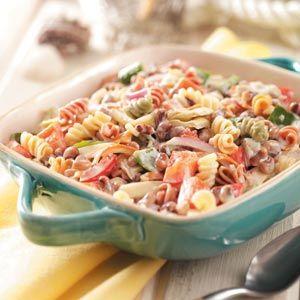 Black Eyed Pea Pasta Salad Recipe Pepperoni Things To