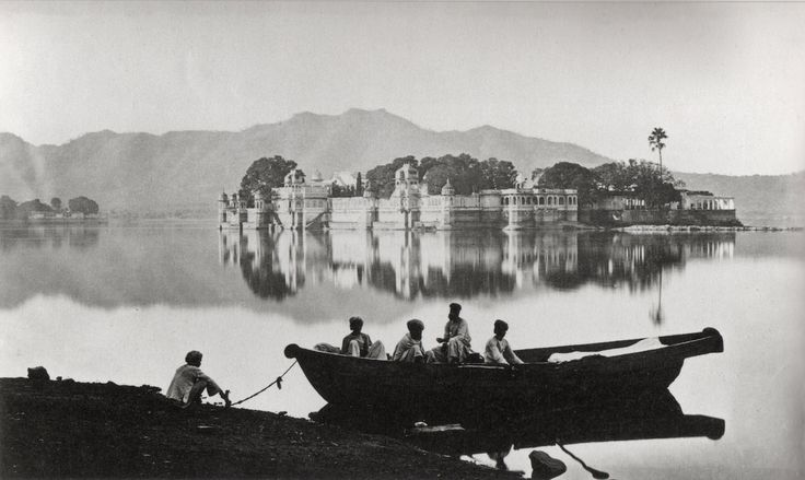 Photograph by Colin Murray, the chief photographer for Bourne and Shepherd, Calcutta, of the Water Palace in 1873. Stock Photo ID: HU058523 Date Photographed: 1873 Model Released: No Release Property Released: No Release Photographer: Colin Murray Location: Udaipur, India Credit: © Hulton-Deutsch Collection/CORBIS  http://files.myopera.com/milano14/albums/14612762/Incredible%20India%20-%2049.jpg