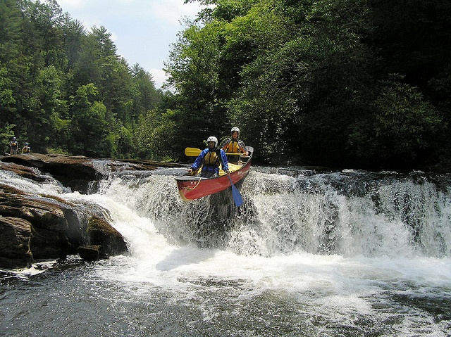 NCOBS North Carolina Mountains Whitewater Canoeing