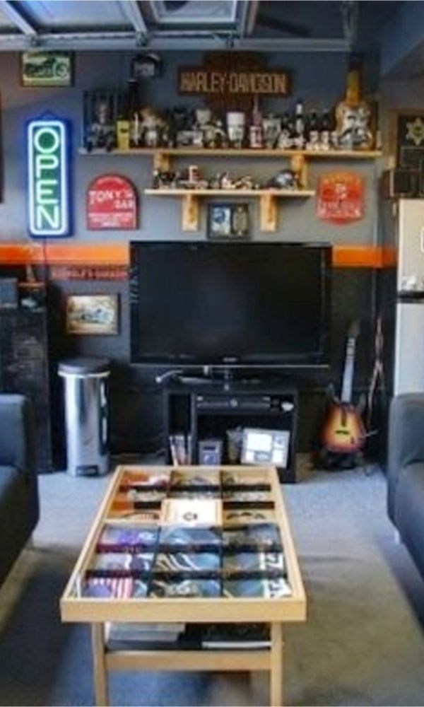 10 Must Have Items For The Ultimate Man Cave Man Cave Room Man