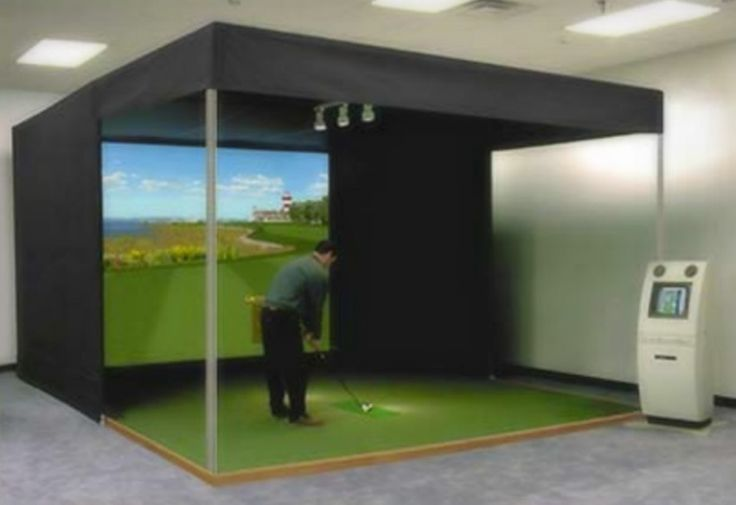 1000 Images About Golf Simulator On Pinterest Media