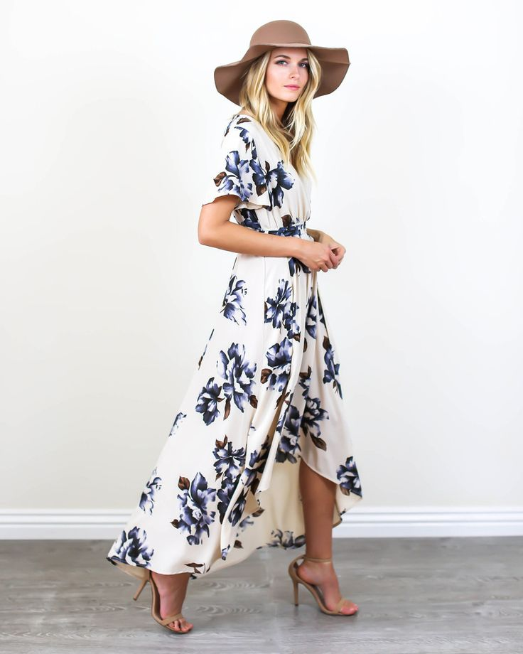 Blue Bonnet Maxi Dress - PREORDER