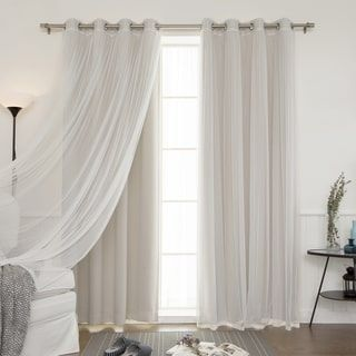 Best 10 Tulle Curtains Ideas On Pinterest Bed Valance