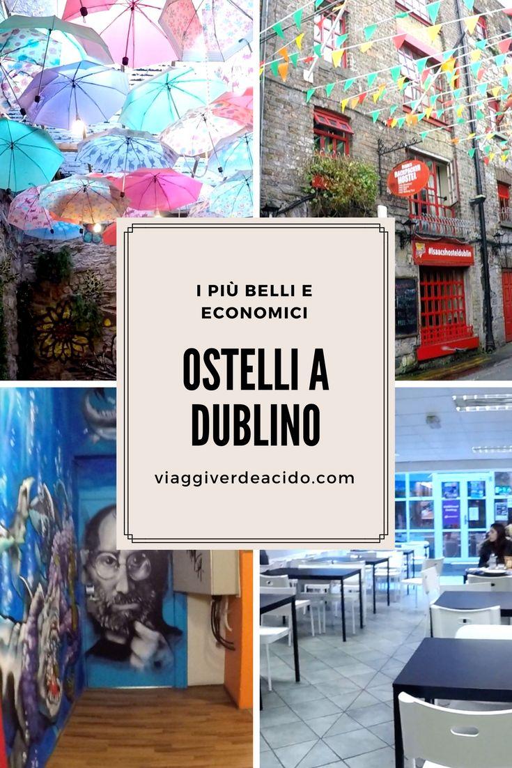 Ostelli a Dublino: i più belli e economici dove dormire