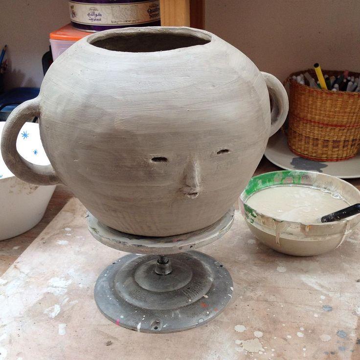 Hoy me agarró un espíritu oriental  #cerámica #ceramics #objetosmuk