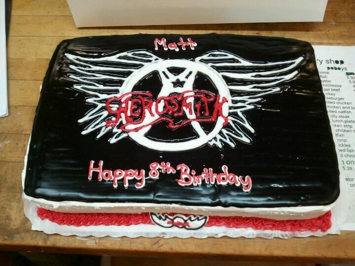 Aerosmith Cake Cake Amazing Cakes Party Rock