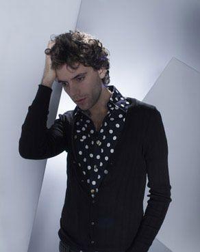 Mika polka dot promo pic David Ellis photoshoot