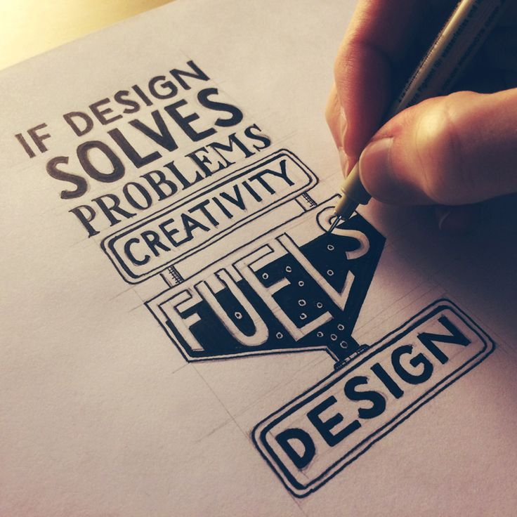 If design solves problems, creativity fuels design. (Video of creation process)