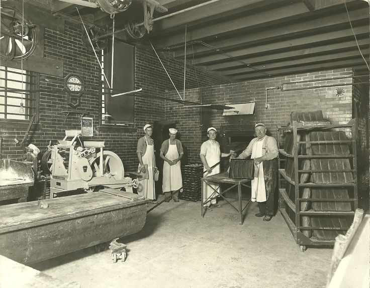 Today's picture of Eloise shows the inside of the Bakery ...