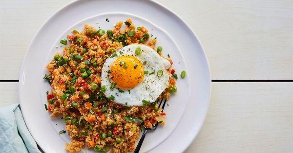 Cauliflower Fried Rice via @PureWow