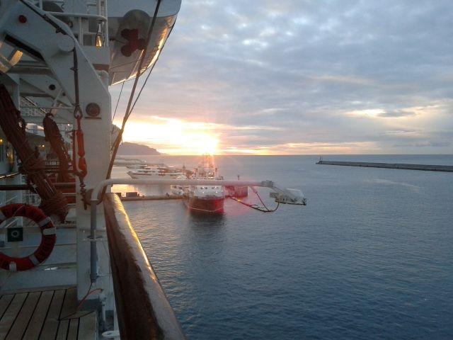 Sunrise (From Genova,Italy)