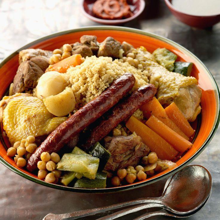 Couscous Au Merguez ~ Cuisine Arabe