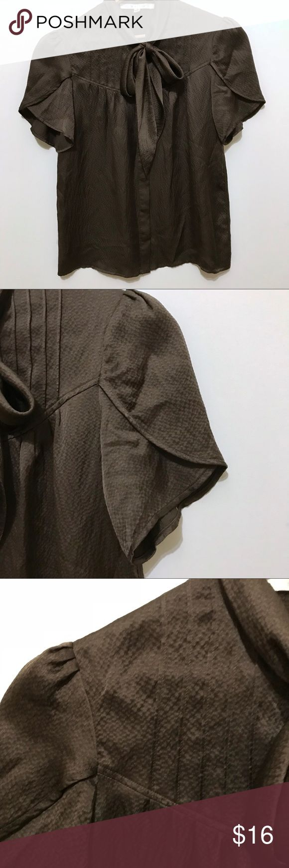 Walter Brown Bow Top Great used condition. Smoke free home. True to size. Walter Tops Blouses