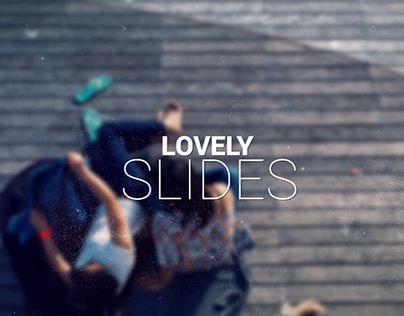 """Check out new work on my @Behance portfolio: """"After Effects Template : The Lovely Slides"""" http://on.be.net/1K8R8jO"""
