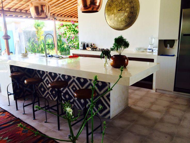 My kitchen in Bali
