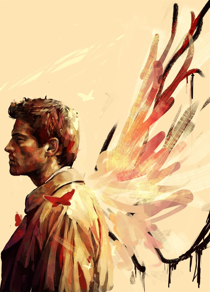 """Castiel: """"I'm your new God. A better one."""" #spn"""