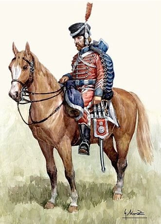 Húsares de Cantabria 1810