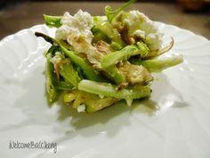 WelcomeBa(c)kery: Insalata di puntarelle, carciofi, mele verdi e ric...