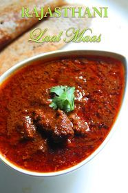 Rajasthani Laal Maas Recipe / Red Mutton Curry