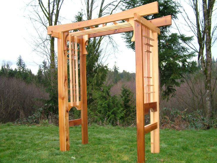 317 best images about garden arbors trellis gazibos on for Japanese garden trellis designs