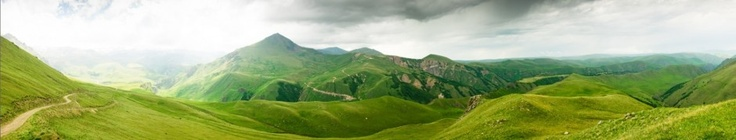Umbria hills and mountains