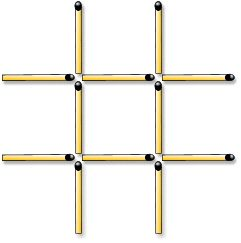 Old Matchstick Puzzles - fun for all ages