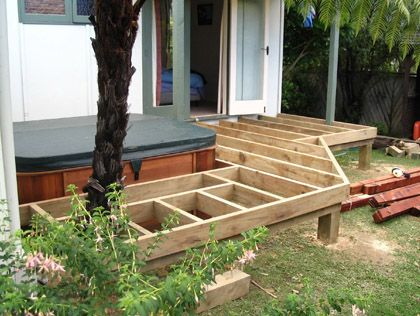 Diy Decks And Porch For Mobile Homes Deck For A Mobile