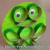 bricolage en rouleau de papier WC_grenouille