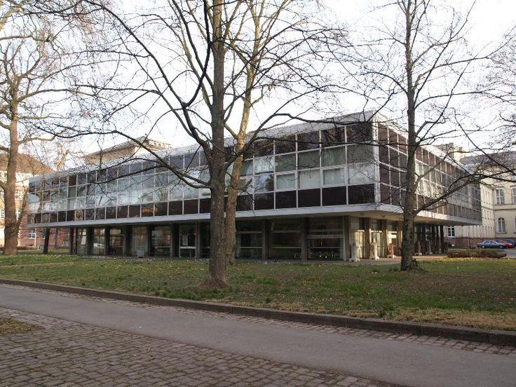 Karlsruhe, Germany: Staatliches Museum fur Naturkunde (Kriegsstrasse): extension