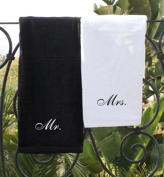 Embroidered Bath Towels and Bath Sheets