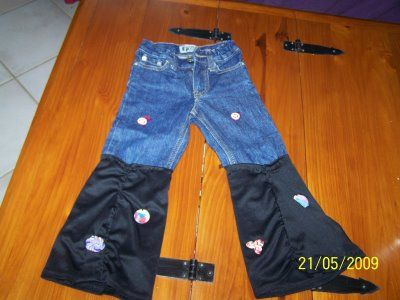 pantalons annees 80