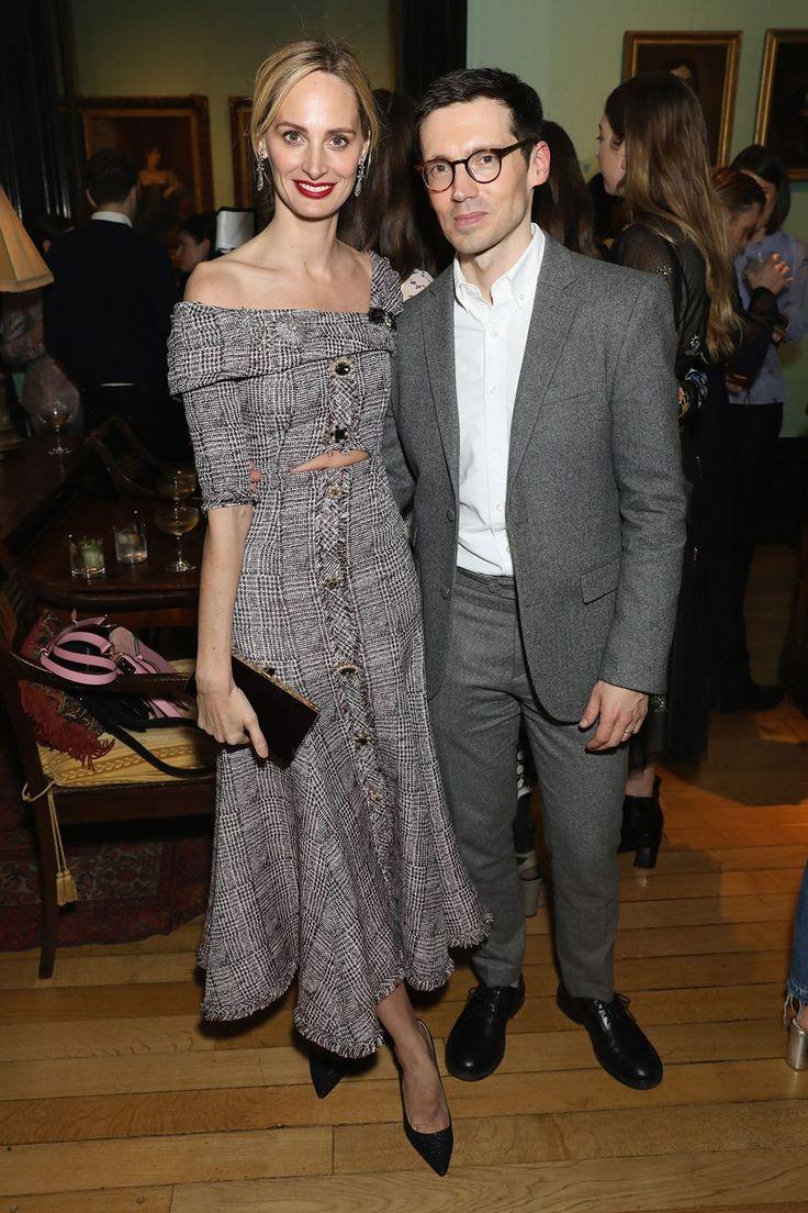 Lauren Santo Domingo and Erdem Moralioglu