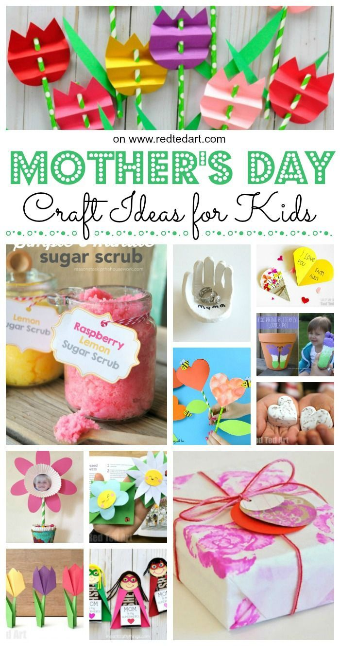 Easy Mother S Day Crafts For Kids To Make Stay At Home Mom Tips