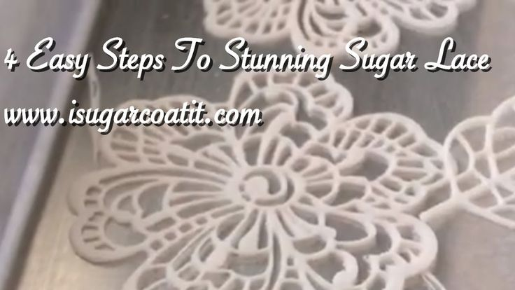 17 Best Images About Sugar Lace Cake On Pinterest Lace