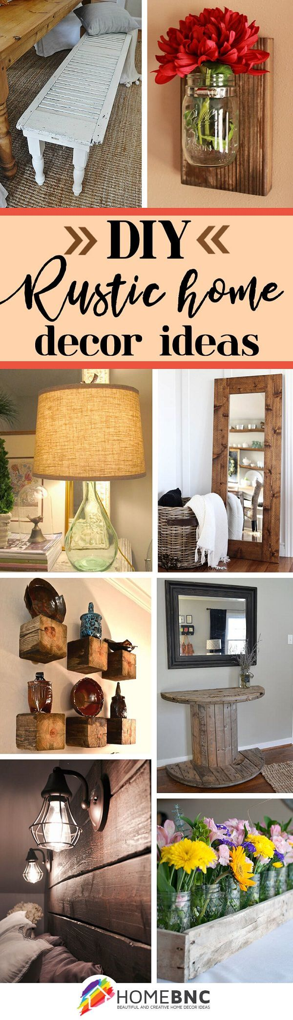 39 DIY Rustic Home Decor Ideas You Can Make Yourself