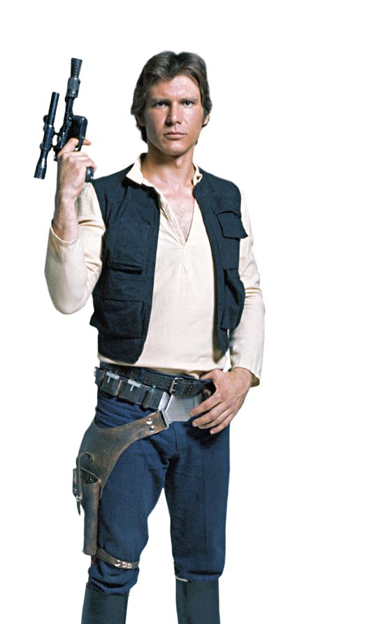 Star Wars Han Solo Vest Real Leather Designed 100% Accurate Inside Stitched Viscose Lining YKK Front Zip Closure Four Outside Pockets and Two Inside Pockets Available In Black