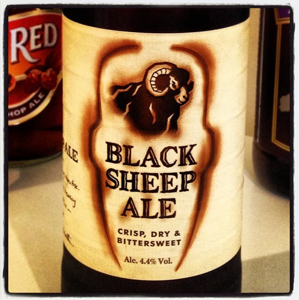 Black Sheep Ale - 4.4% ABV - Crisp Dry and Bitterweet - a quality Ale