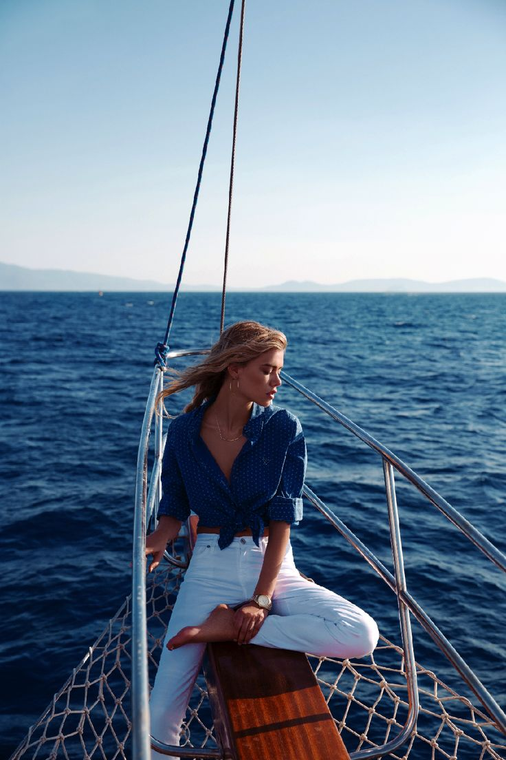 joanna halpin by cihan alpgiray for cosmopolitan turkey july 2013 | visual optimism; fashion editorials, shows, campaigns & more! #boat
