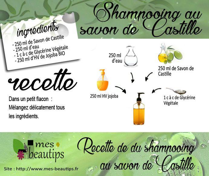 Savon de Castille, shampooing naturel