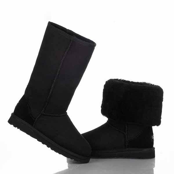 Ugg Classic Tall Boots 5815 Black New